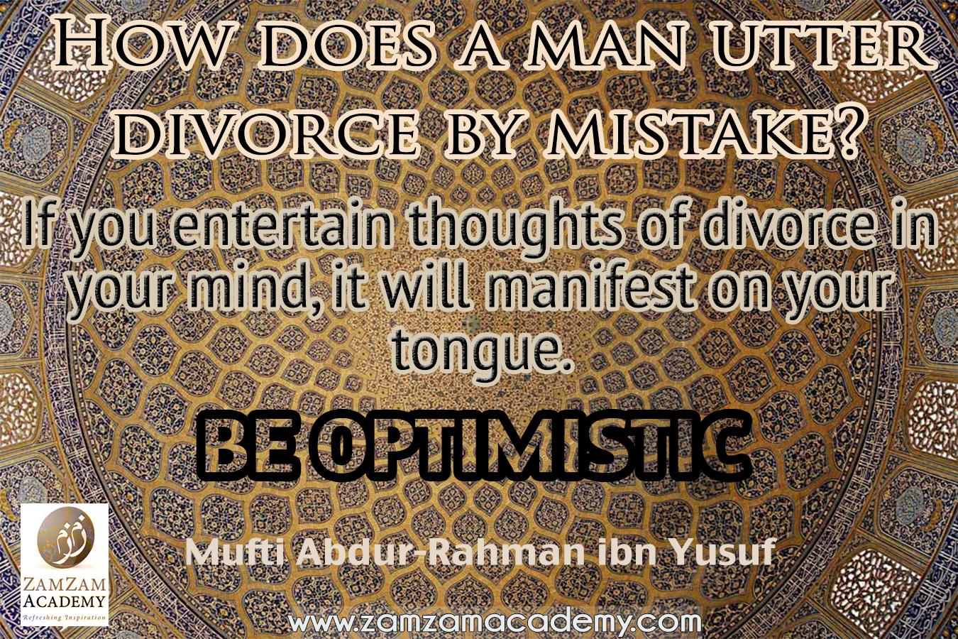 Divorce Quotes Quotesmufti Abdurrahman Ibn Yusuf  Zamzam Academy