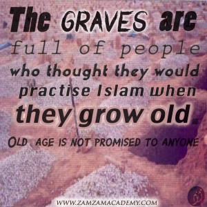 The graves are full..