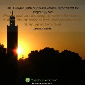 sins forgiven ramadhan